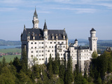 Neuschwanstein Castle  Schwangau  Allgau  Bavaria  Germany  Europe