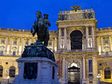 Heldenplatz and Hofburg  UNESCO World Heritage Site  Vienna  Austria  Europe