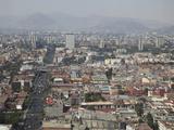 View over Mexico City Center  Mexico City  Mexico  North America