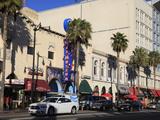 Hollywood Boulevard  Hollywood  Los Angeles  California  United States of America  North America