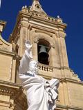 Church at Gharb  Gozo  Malta  Mediterranean  Europe