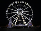 Ferris Wheel at Place De La Concorde  Paris  France  Europe