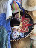 Hats  Souvenirs  Puebla  Historic Center  Puebla State  Mexico  North America