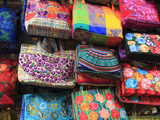 Handmade Bags  Handicraft Market  Oaxaca City  Oaxaca  Mexico  North America