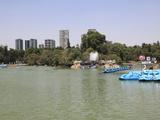 Lake  Chapultepec Park (Bosque De Chapultepec)  Chapultepec  Mexico City  Mexico  North America