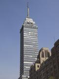 Latin American Tower (Torre Latinoamericana)  Historic District  Mexico City  Mexico  North America