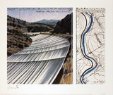 Over the River, project for the Arkansas River Reproductions de collection premium par Christo