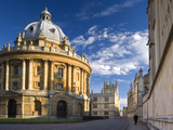 The Radcliffe Camera Building  Oxford University  Oxford  Oxfordshire  England  United Kingdom  Eur