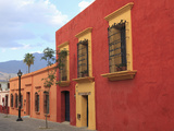 Colonial Architecture  Oaxaca City  Oaxaca  Mexico  North America