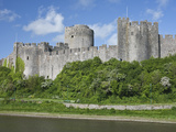 Pembroke Castle in Pembroke  Pembrokeshire  Wales  United Kingdom  Europe