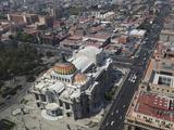 Palacio De Bellas Artes  Historic Center  Mexico City  Mexico  North America