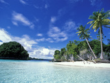 Bay of Honeymoon Island  World Heritage Site  Rock Islands  Palau