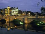 O'Connell Bridge  River Liffy  Dublin  Ireland