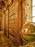 The 1 000 Year Old Melk Abbey Alongside the Danube River  Melk  Austria