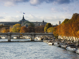 Grand Palais and Seine River  Paris  France