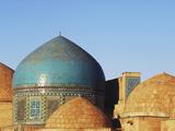 Necropolis in Central  Part of the Shah-I-Zinda Mausoleum  Shah-I-Zinda  Samarkand  Uzbekistan