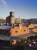 Warehouses Along the Napa River  Napa  Napa Valley Wine Country  California  Usa