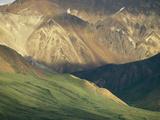 Multi-Colored Slopes of the Alaska Range
