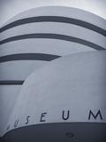 Guggenheim Museum (By Frank Lloyd Wright)  Upper East Side  Manhattan  New York City  USA