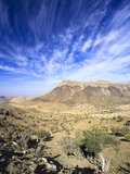 Oman  Hajjar Mountain Range  Jebel Shams Mountain