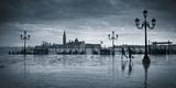 Piazza San Marco Looking across to San Giorgio Maggiore  Venice  Italy