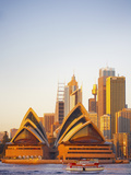 Australia  New South Wales  Sydney  Sydney Opera House  Passenger Ferry Passing Opera House