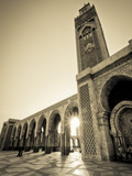 Morocco  Casablanca  Mosque of Hassan II
