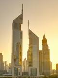 Uae  Dubai  Sheikh Zayed Road  Emirates Towers