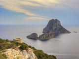 Spain  Balearic Islands  Ibiza  Es Vedra Rocky Island