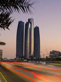 United Arab Emirates  Abu Dhabi  Etihad Towers