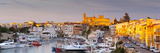 Harbour and Waterfront of Ciutadella  Menorca  Balearic Islands  Spain