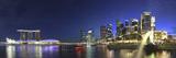 Singapore  Merlion Park and Singapore Skyline