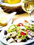 Greek Salad  Plaka District  Athens  Greece