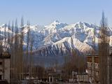 India  Ladakh  Leh  Stok Kangri Peak from Leh  Stok Kangri Is the Highest Mountain in Stok Range in