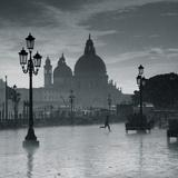 Piazza San Marco Looking across to Santa Maria Della Salute  Venice  Italy