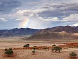 Rainbow, Namibia, Africa Papier Photo par Nadia Isakova