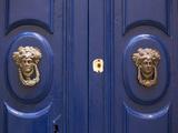 Malta  Europe  Ornamental Door Knobs Found on an Old House in Rabat