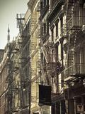 Cast Iron Architecture  Greene Street  Soho  Manhattan  New York City  USA