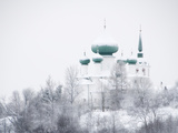 Church of St John the Baptist in Winter  Staraya Ladoga  Leningrad Region  Russia