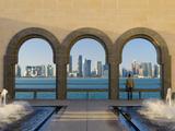 Qatar  Doha  Doha Skyline from Museum of Islamic Art