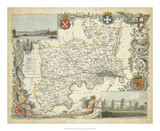 Map of Middlesex Giclée