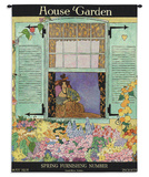 House & Garden May 1918 - Wall Tapestry