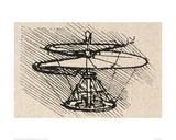 Propellor Giclée par Leonardo Da Vinci