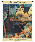 House & Garden June 1917 - Wall Tapestry