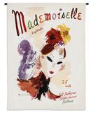 Mademoiselle September 1936 - Wall Tapestry