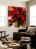 Fleur du Paradis Toile Murale Géante par Doris Savard