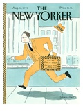 The New Yorker Cover - August 12  1991