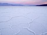 Salt Flats at Badwater  Death Valley National Park  California