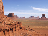 Monument Valley on the Navajo Indian Reservation  North Window  Arizona  USA