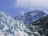 Melting Seracs on the The Argentiere Glacier  Chamonix  France